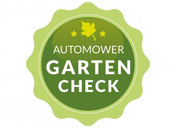 Kostenfreier Automower-Gartencheck
